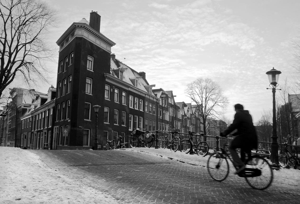 Biker Prinsengracht