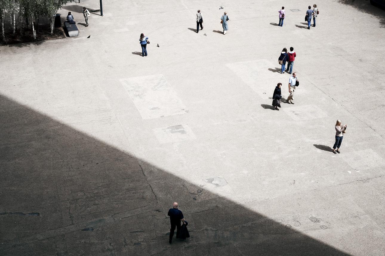 Tate Modern square London