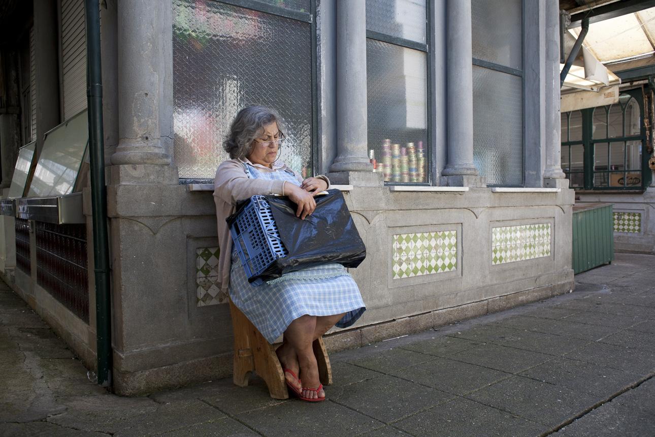 Sleeping lady, Porto